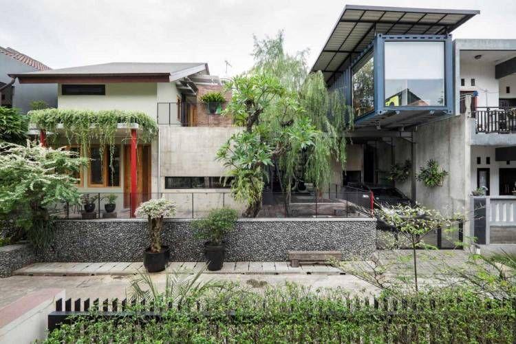 75 Model Desain Rumah Minimalis Sederhana Tapi Mewah Dan Indah Arsitag Desain Rumah Pertamanan Belakang Rumah Desain Rumah Minimalis