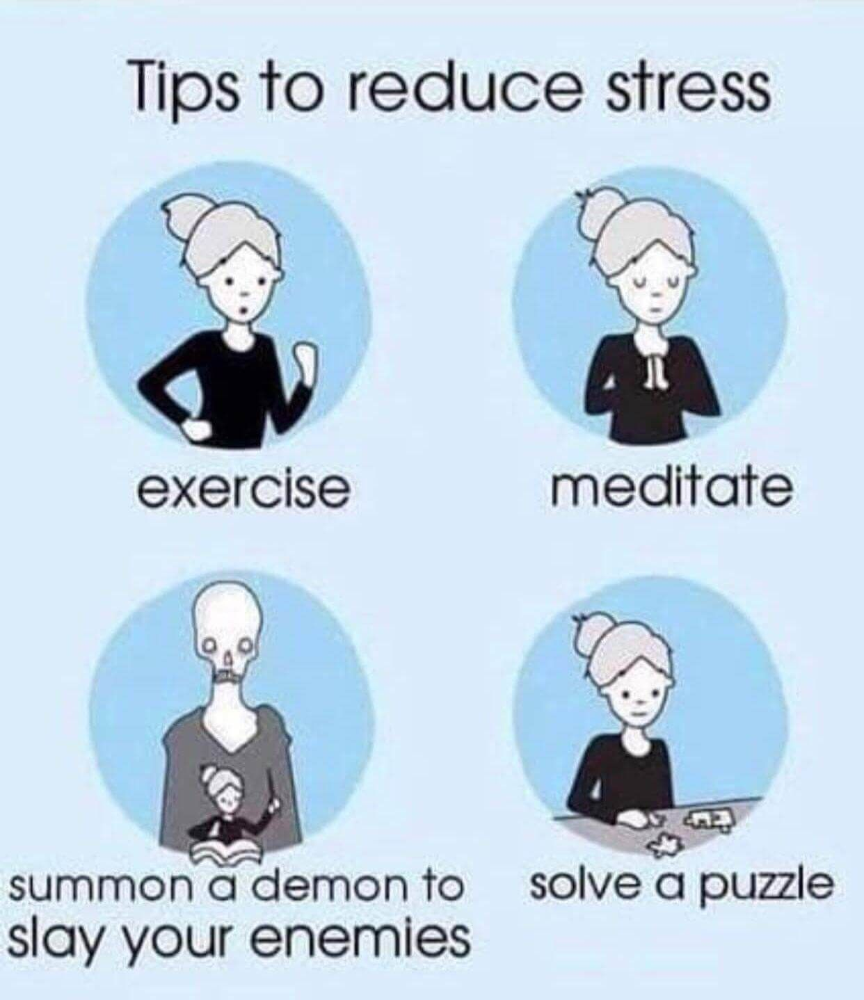 How To Reduce Stress Funny Image Viral Fun Quotes Funny Stress Funny Funny Relationship Quotes