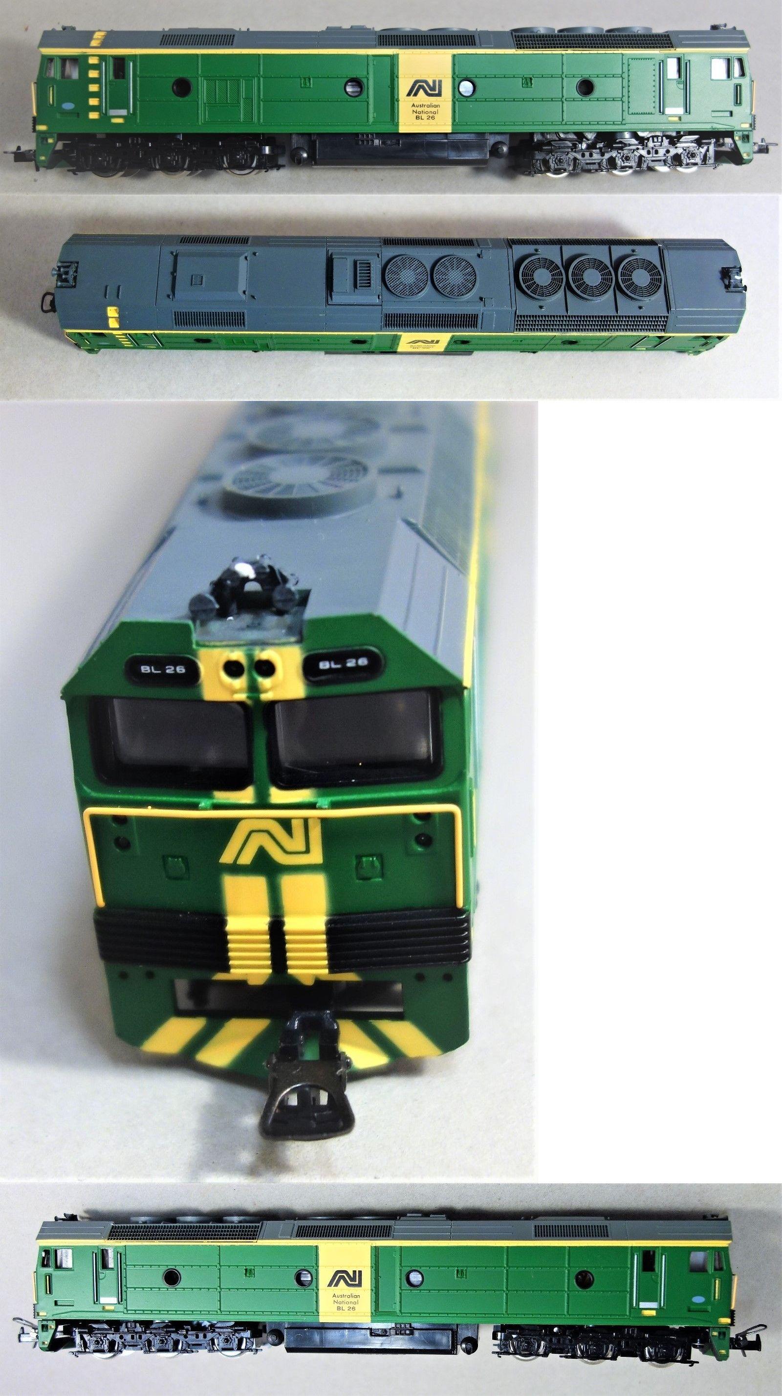 Oo Scale 122601 Powerline Ho P214 Bl26 Class Australian Nat L Bob Hawke Ltd Ed Dual Motor Nib Buy It Now Only 134 9 10 Year Plan Model Railroad Bob Hawke