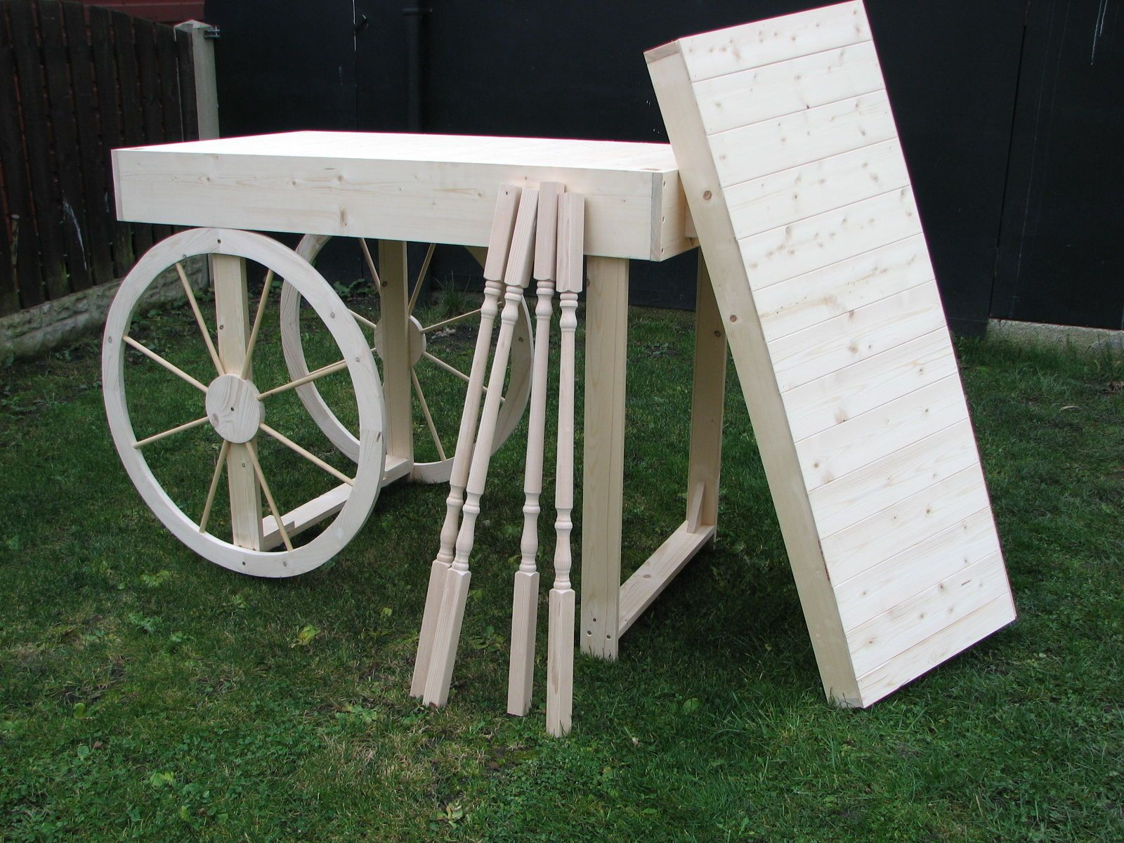 how to build a cart