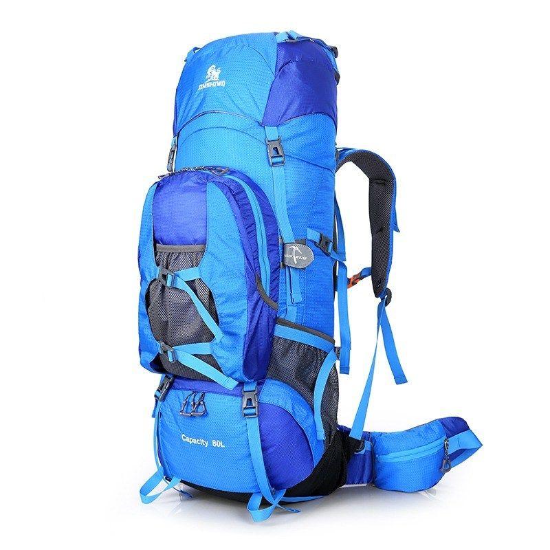 Unisex Men/'s Waterproof Backpack Rucksack 65L Hiking Camping Trekking Bag