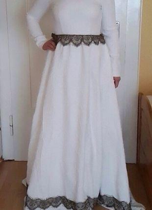 Maxi Abendkleid hochzeitskleid Ball kleid vintage jaquard ...