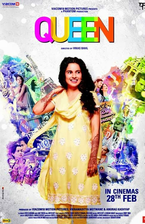Queen - It's a really sweet, charming, and sophisticated movie. 4/5