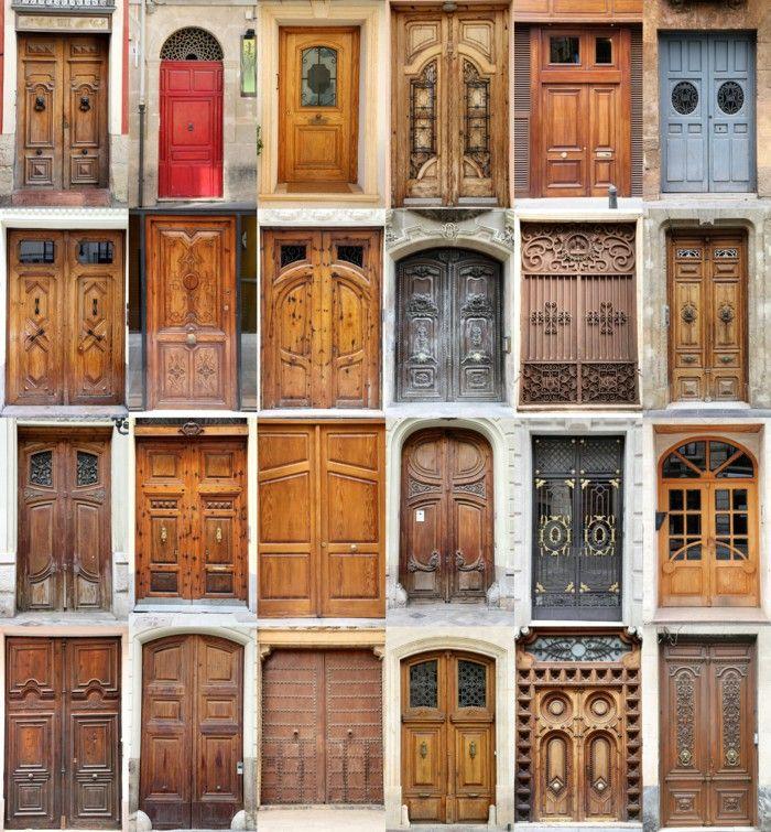 Out Door Wood Door Itself Build Bright Wood Walnut Collection