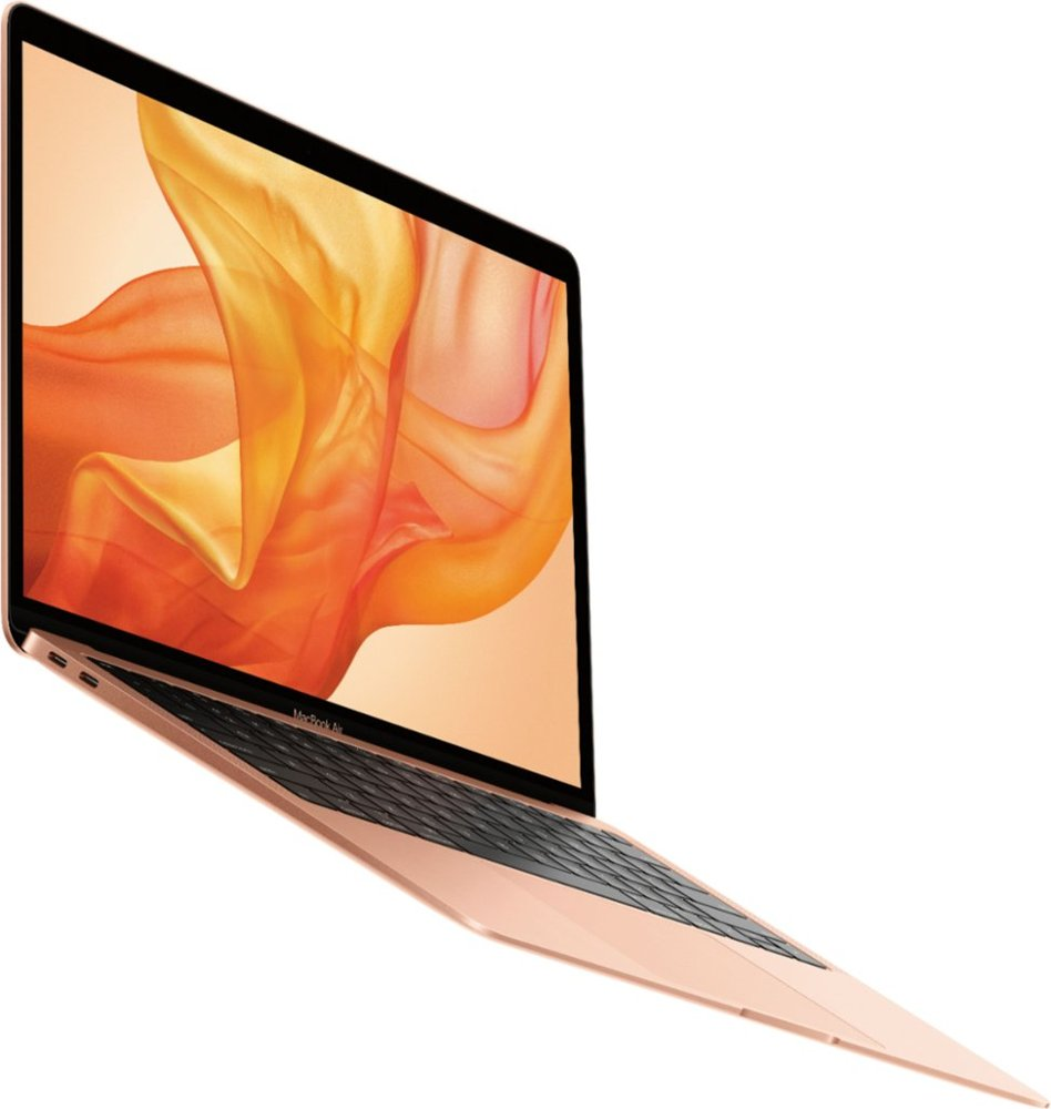 Apple Macbook Air 13 3 Laptop With Touch Id Intel Core I5 8gb Memory 128gb Solid State Drive Gold Mvfm2ll A Best Buy Apple Macbook Air Macbook Air 13 Inch Apple Macbook