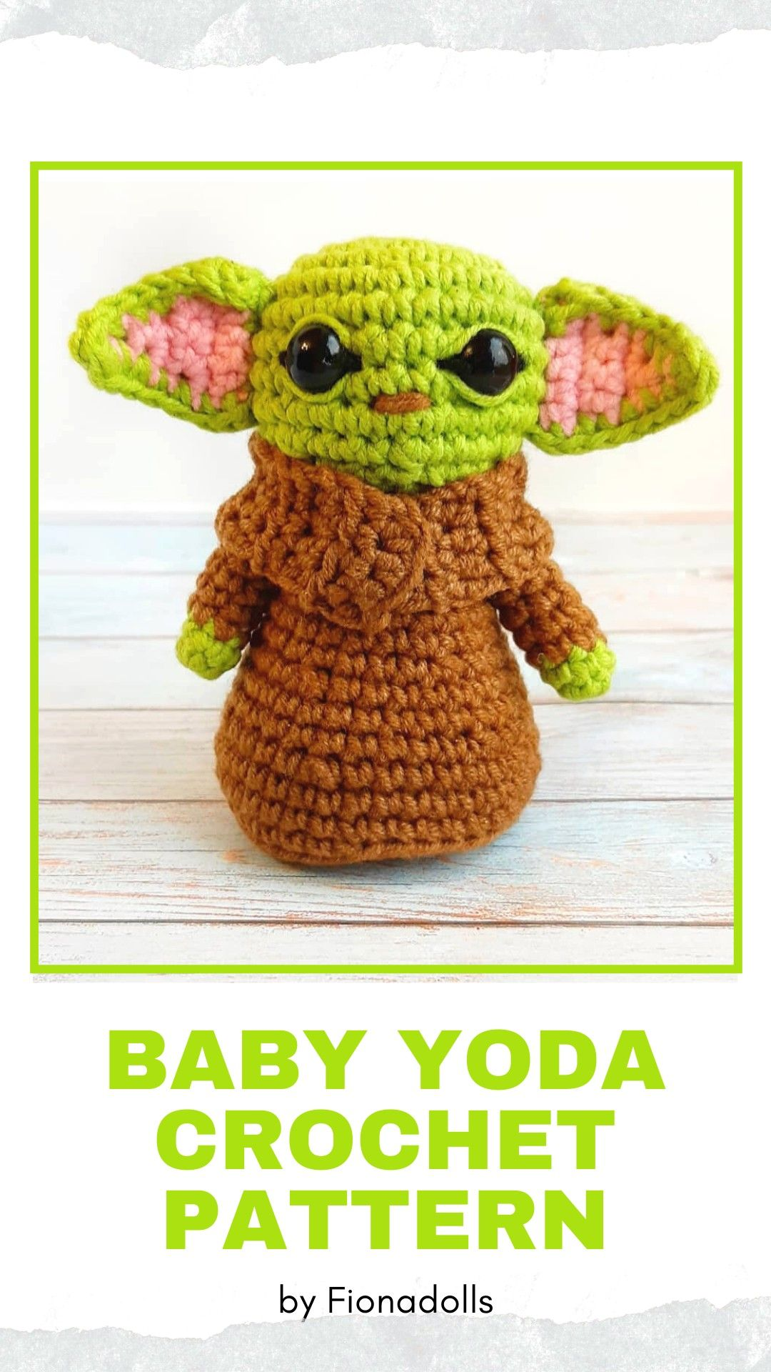 Baby Yoda Amigurumi Crochet Pattern - Cool Creativities | 1920x1080