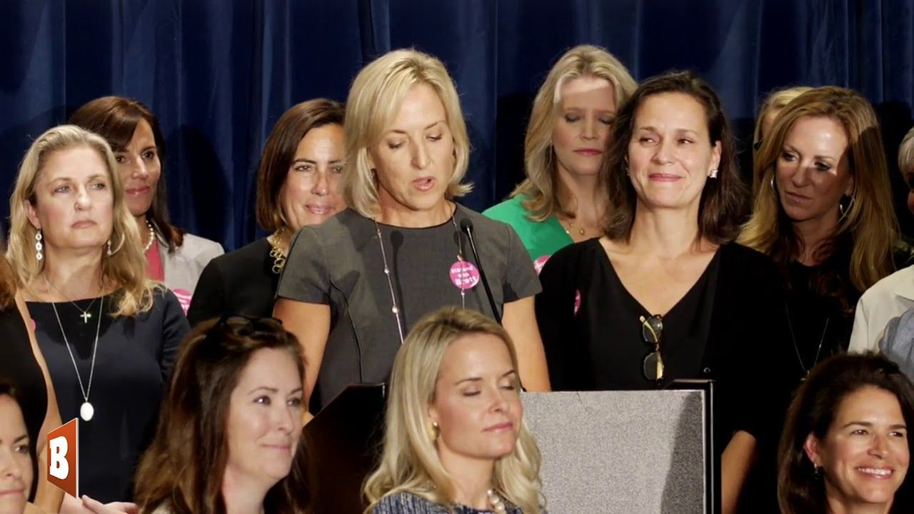 Female Supporters of Judge Kavanaugh Hold IStandWithBrett