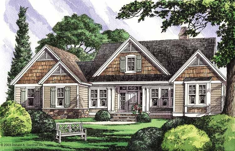 Craftsman Style House Plan 3 Beds 3 Baths 2652 Sq Ft Plan 929 702 Craftsman House Plans Craftsman Style House Plans Craftsman Floor Plans