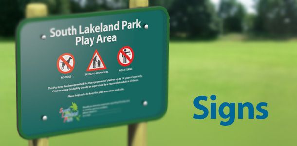 playground signs | Playground signs are important to provide parents and carers with key ...