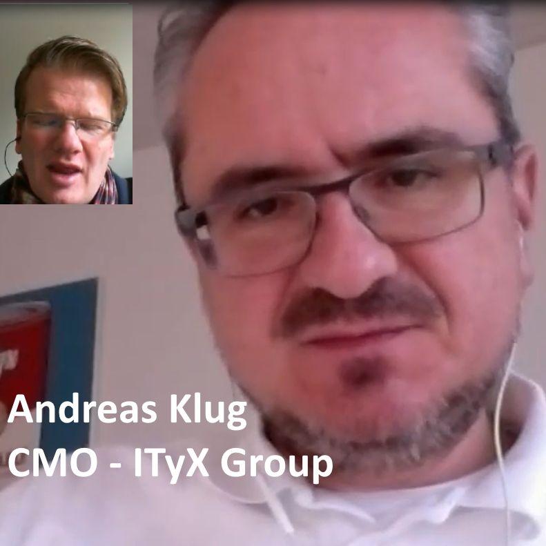 Andreas Klug - CMO  ITyX Group