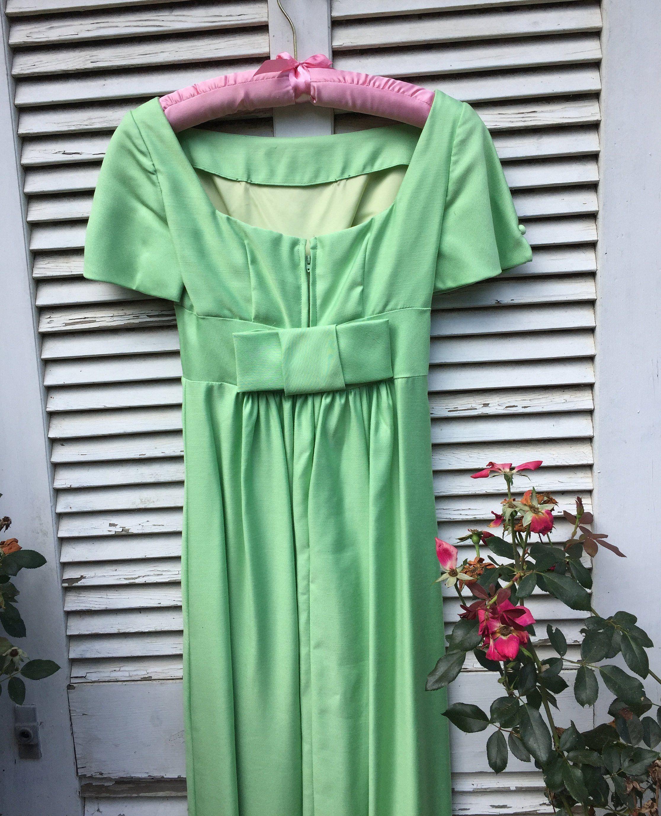 Lorrie deb petite mint green s bridesmaid or prom dress in