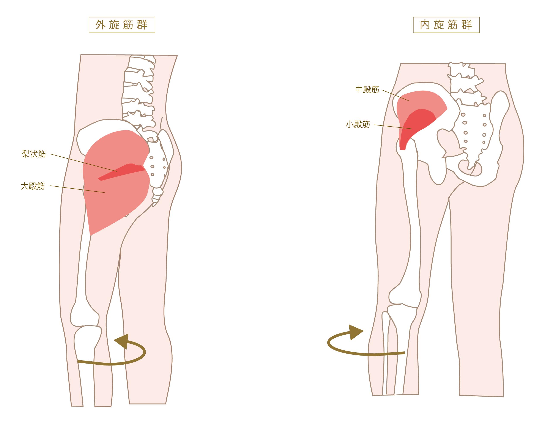 痛い と 股関節 開く