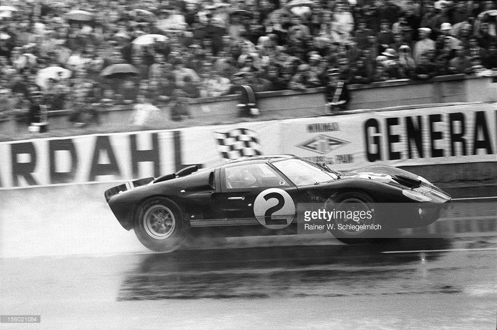 Le Mans 1966 Bruce Mclaren Le Mans Ford Racing