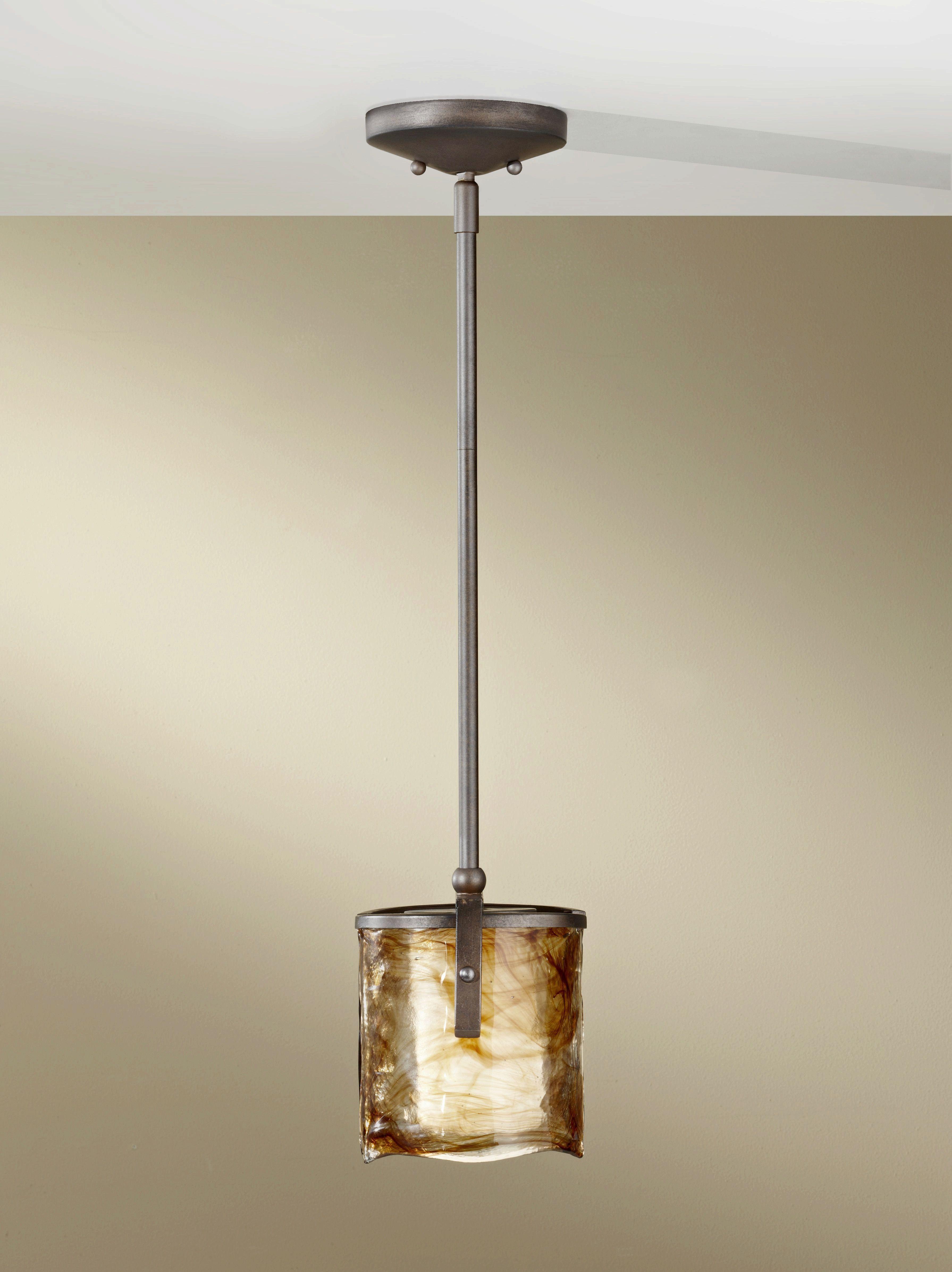 Feiss Exclusive Lighting Store Aris One Light Mini Pendant