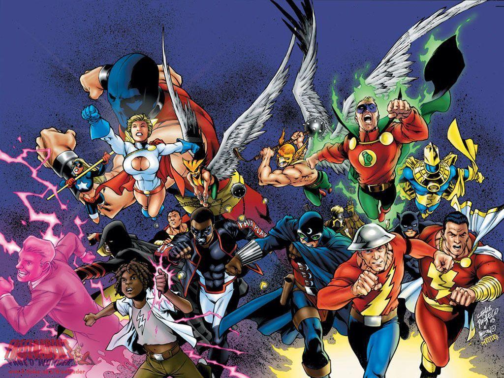 Jsa Dc Comics Wallpaper 4007307 Fanpop Dc Comics Wallpaper