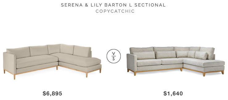 Serena Lily Barton Sectional Copycatchic Sectional Serena Lily Home Decor