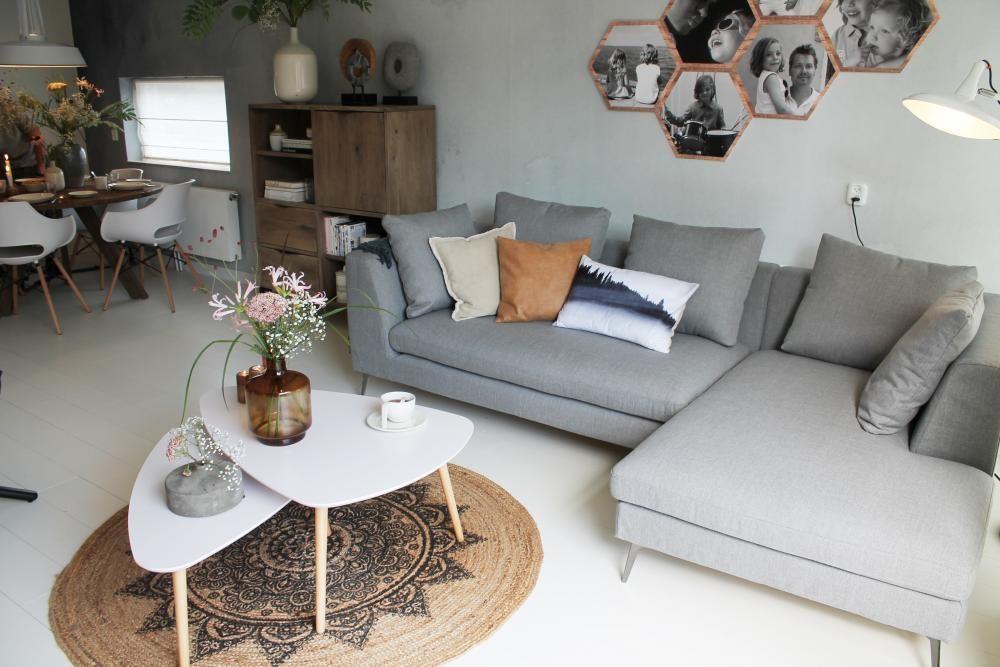 Kleurrijke Witte Woonkamer : Warme witte woonkamer rtl eigen huis en tuin #gordijnen #curtains