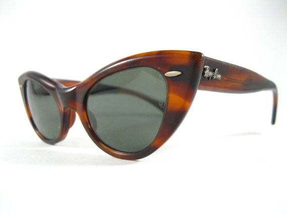 a444eaaa2d6 tortoiseshell non prescription lenses. Ray-Ban Lisbon vintage cat eye  sunglasses. W0960 by holdenism
