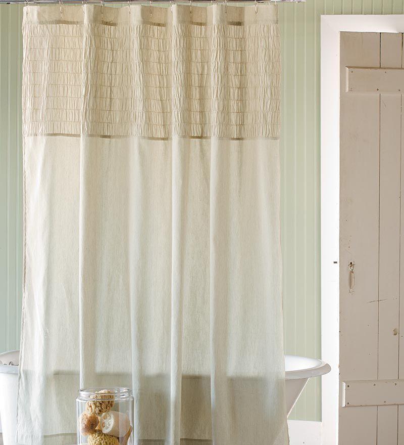 White And Beige Shower Curtain Hampton Stripe Shower Curtain Gray