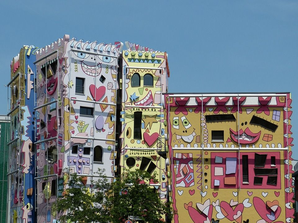 More WOW! Yes, this is a real Rizzi building complex in