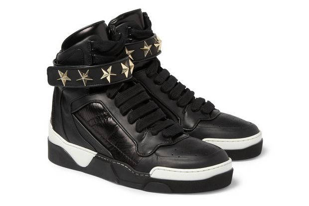 quality design 7637e 24497 Top Shoes · Givenchy Star-Detail Leather High-Top Sneaker Nike Leggings,  Nike Tights, Nike