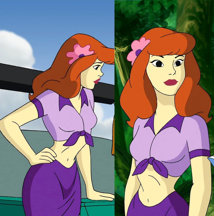 Aloha Scooby Doo Daphnie Belly By Gussmee On Deviantart