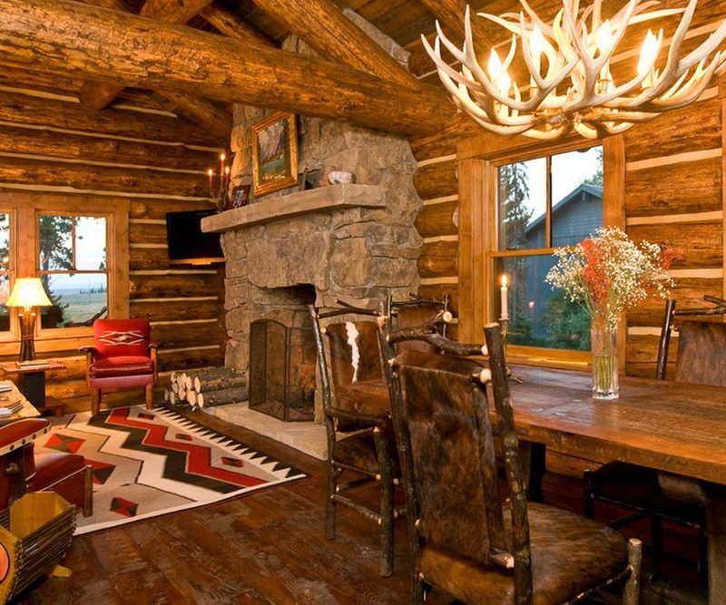 Cabin Wood Furniture Ideas For House