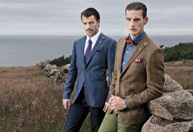 Ryan Lovelock (left)—Mister. Various ways to match a blazer.