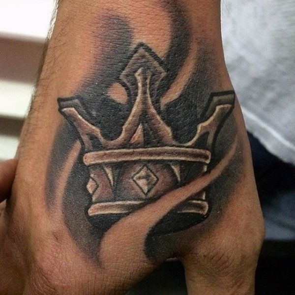 Crown Tattoos For Men Crown Tattoo Men Hand Tattoos For Guys Crown Hand Tattoo