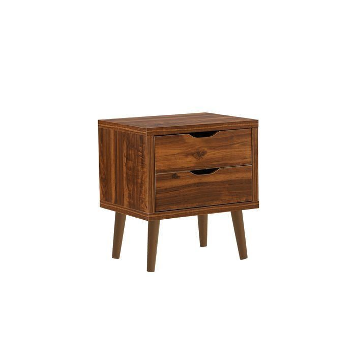 Best Yeet Modern 2 Drawer Nightstand Nightstand 2 Drawer 400 x 300