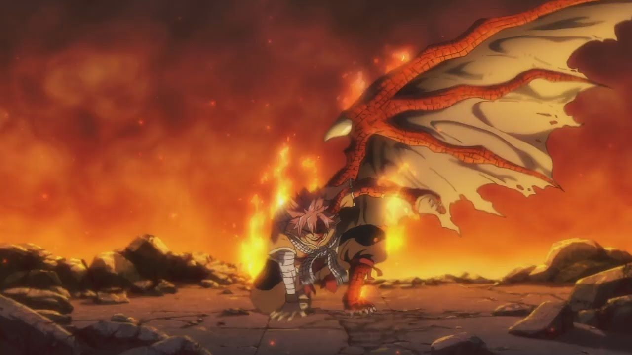 Natsu In Half E N D Form From Dragon Cry Fairy Tail Tumblr Fairy Tail Movie Natsu Fairy Tail