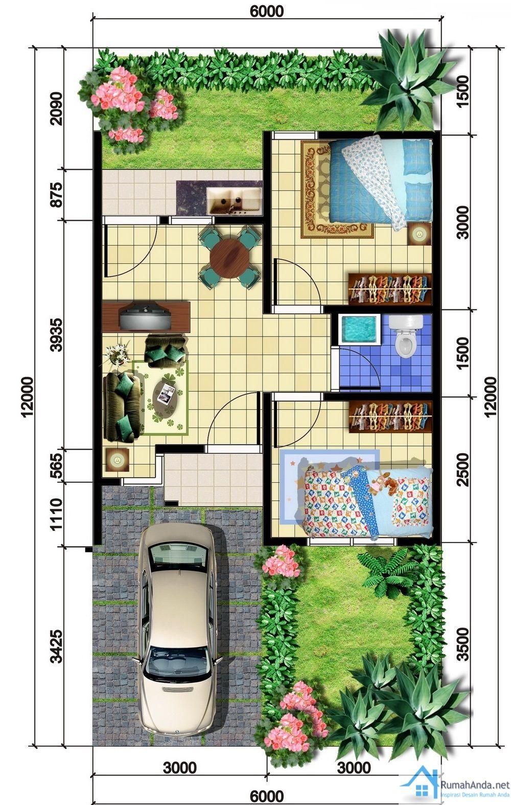 Denah Rumah Minimalis Sehat Denah Rumah Rumah Minimalis Desain Eksterior