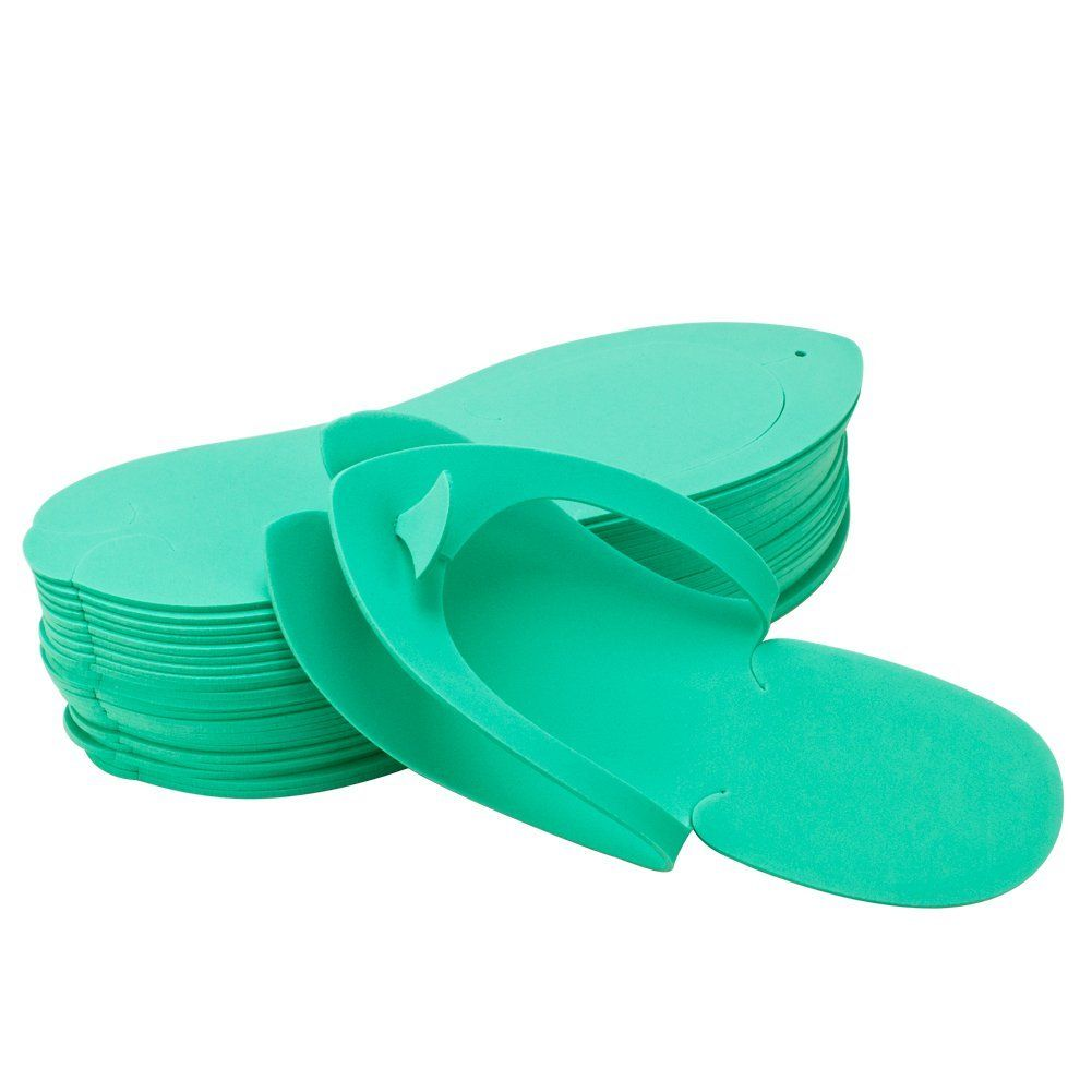 e7a15a66f Disposable Pedicure Salon GREEN Flip Flop Slipper Nail Foam 12 Thong Foot  Sandle    Hurry! Check out this great item   Sandals