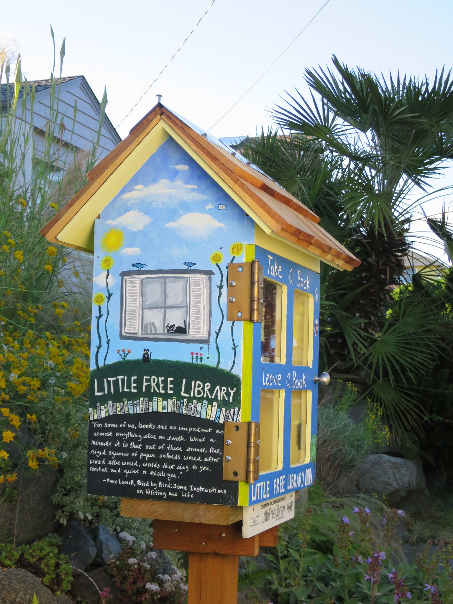 WASHINGTON, Seattle 7159 Little free libraries, Little