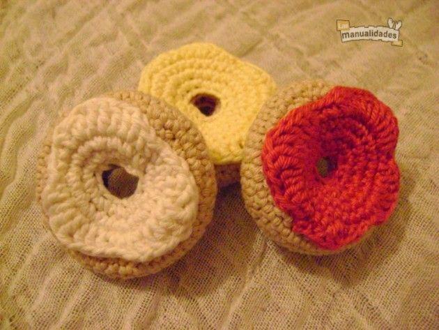 Cómo tejer una rosquilla de crochet | Amigurumi patrones gratis ...