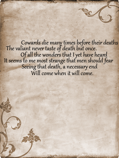 My 10 Favorite Julius Caesar Quotes Shakespeare Quotes Caesar