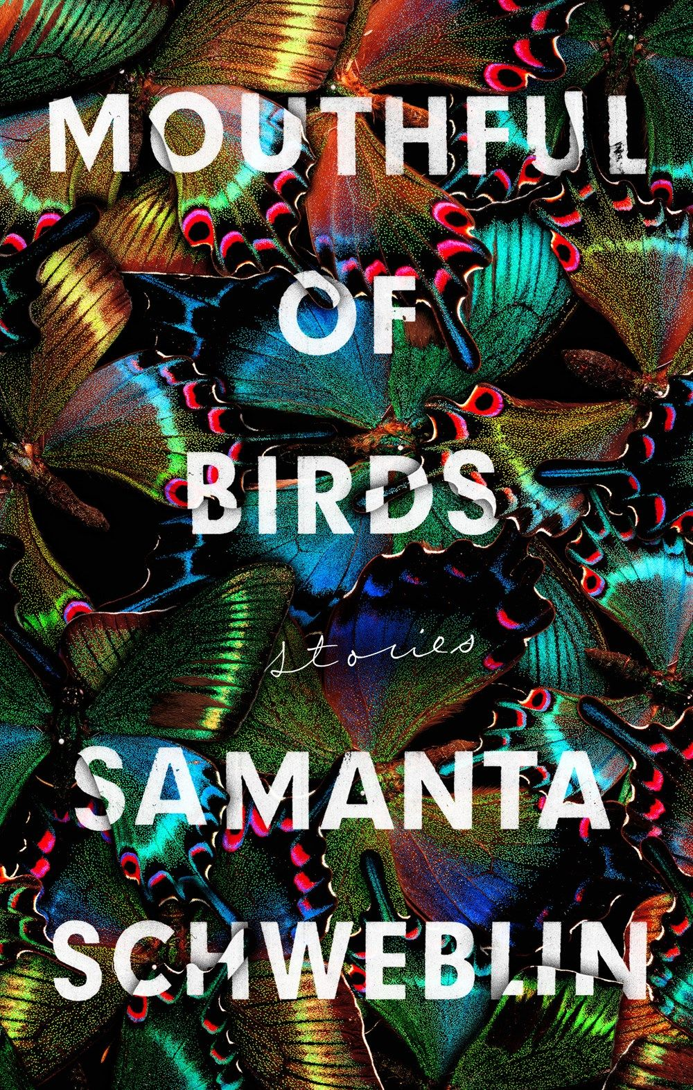 Mouthful Of Birds By Samantha Schweblin Best Book Covers Good Books Book Cover