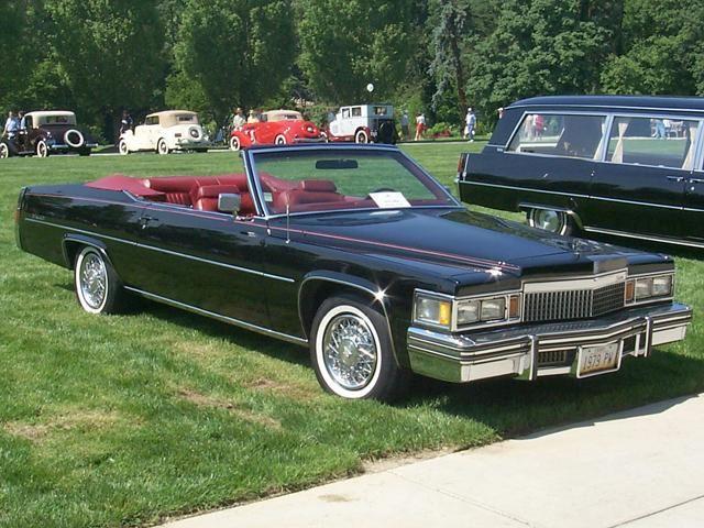 1979 Cadillac Deville Lecabriolet Convertible By That Hartford Guy Via Flickr