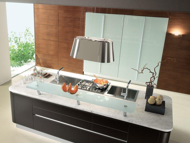 Dunstabzugshaube Modern moderne dunstabzugshaube als blickfang in der küche 100 design