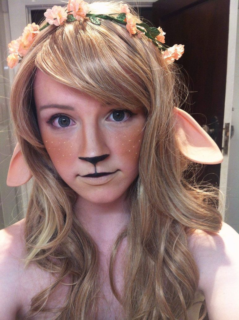 Pin by Ivoryphoenix Art on Cosplay Ideas in 2020   Faun makeup