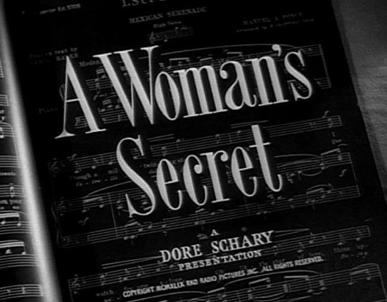 a woman's secret 1949 - Поиск в Google