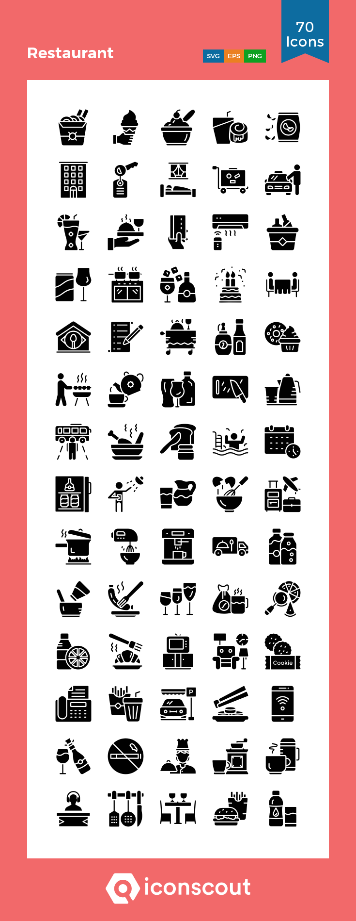 Download Restaurant Icon Pack Available In Svg Png Eps Ai Icon Fonts Glyph Icon Icon Marketing Icon