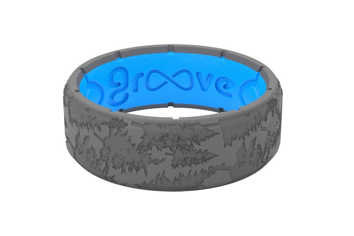 Groove Men S Silicone Ring