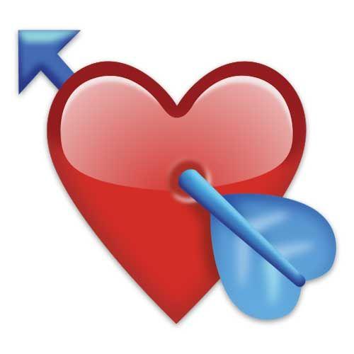 Emoji Request Emoji Emoticon Heart With Arrow