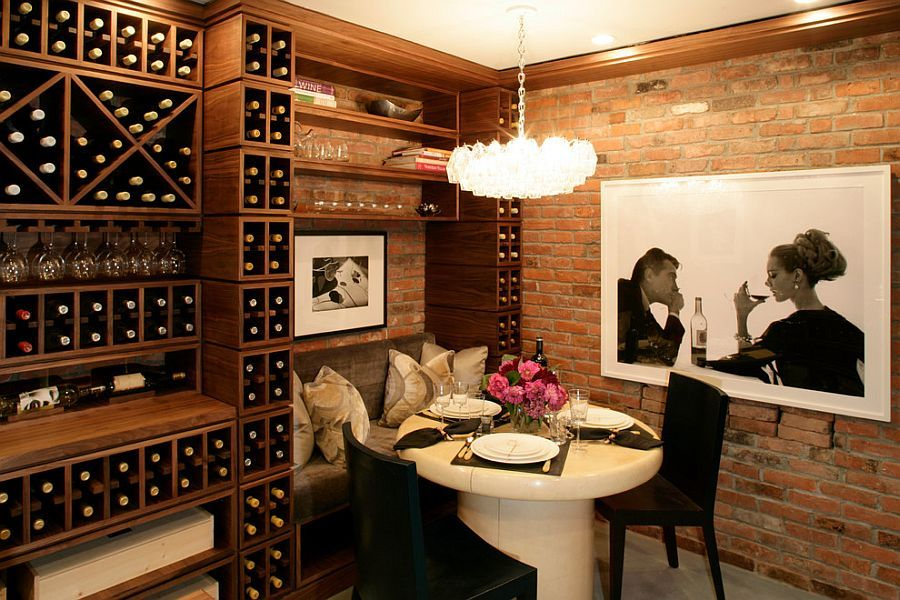Connoisseuru0027s Delight: 20 Tasting Room Ideas To Complete The Dream Wine  Cellar