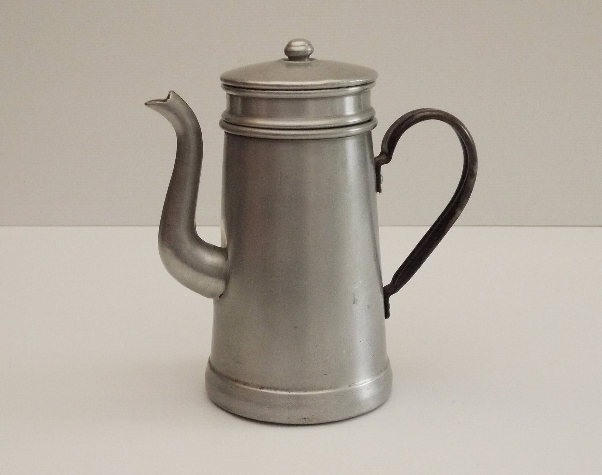 Cafetière Française Antique French Coffee Pot Pure Aluminum Coffee Maker