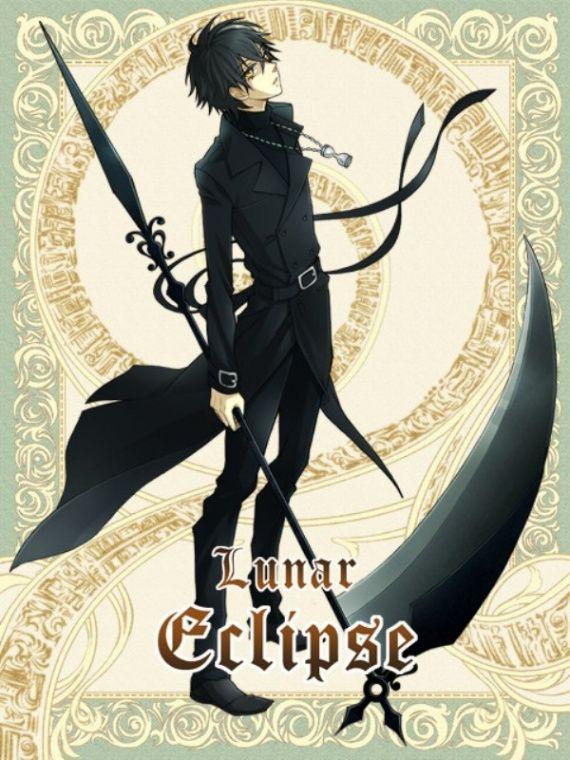 Scythe Girl Anime Scythe Anime Grim Reaper Anime Warrior