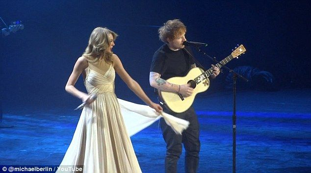 Taylor Swift And Ed Sheeran Perform I See Fire At Berlin Concert Taylor Swift Ed Sheeran I See Fire