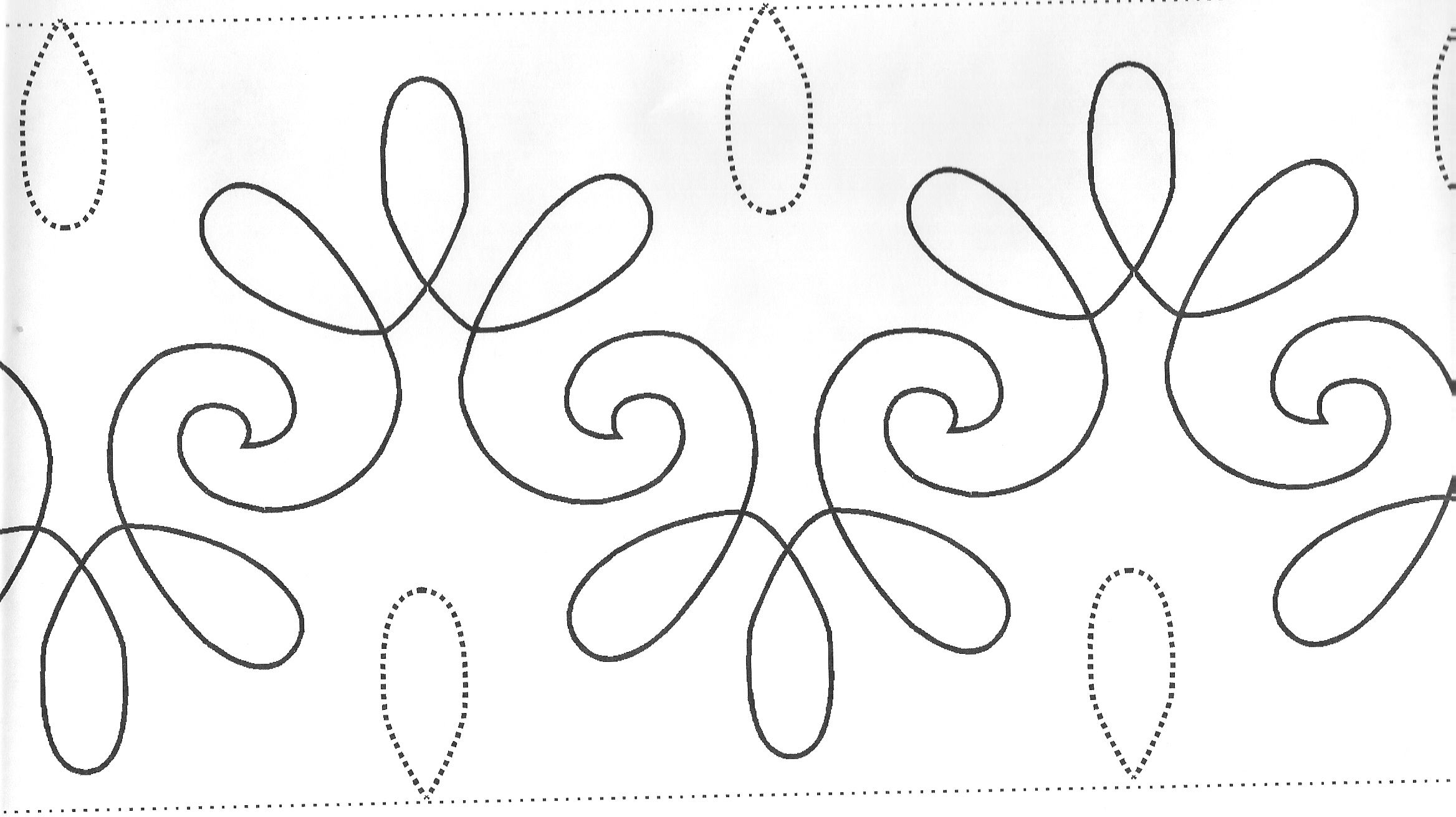 quilters stitch pattern