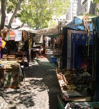 In Cape Town city centre there is one of Cape Town's oldest and most popular markets known as Green Market Square.